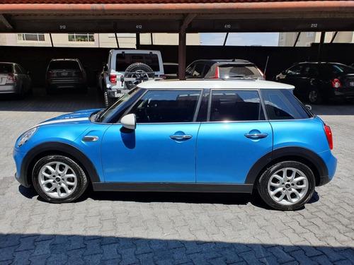 mini cooper 1.5 chili 5 puertas at 2016