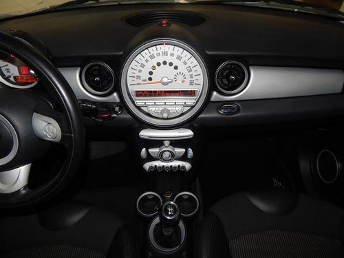 mini cooper 1.6 16v 2p completão c/ couro + rodas 69.500 kms