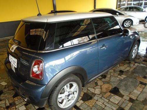 mini cooper 1.6 azul 2011