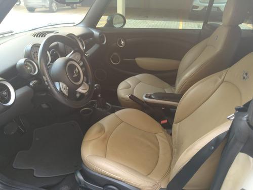 mini cooper 1.6 cabrio 16v gas. 2p aut. branco 2010/2010