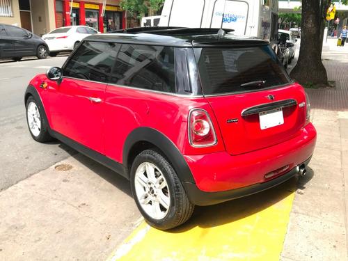 mini cooper 1.6 chili 122cv 2013 rojo 66.000kms impecable!!!
