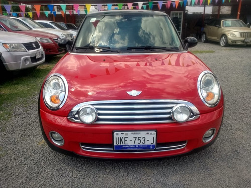 mini cooper 1.6 pepper 6vel aa piel qc mt 2009