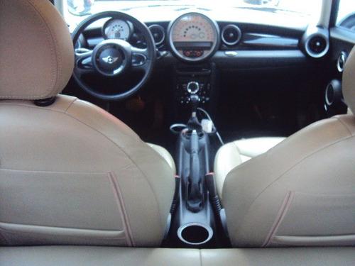 mini cooper 1.6 pepper aut. 3p ano 2011
