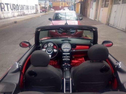 mini cooper 1.6 pepper convertible mt 2010