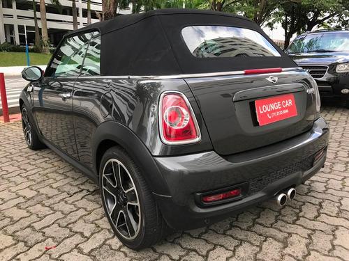 mini cooper 1.6 s cabrio 16v turbo gasolina 2p automático