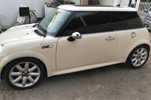 mini cooper 1.6 s hot chili aa piel qc at 2006