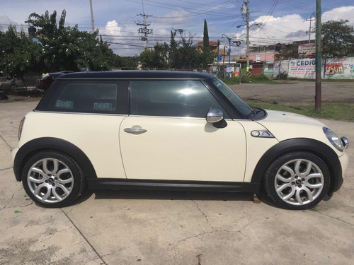 mini cooper 1.6 s hot chili aa piel qc at 2009