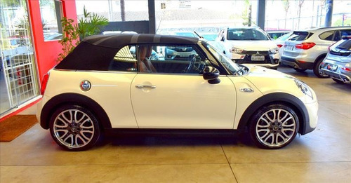 mini cooper 2.0 16v twinpower s cabrio steptronic