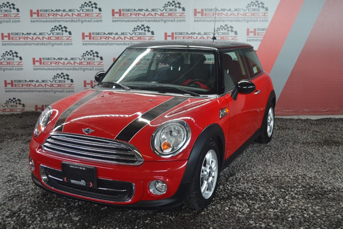 mini cooper 2013 1.6  salt at rojo