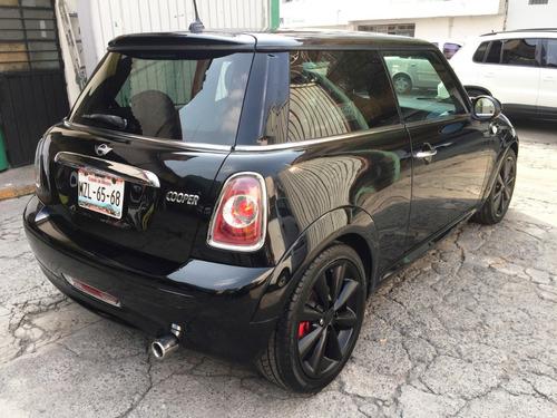 mini cooper 2013 all black. automático, 53000 kms,seminuevo