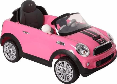 mini cooper auto a batería negro control remoto - toy store