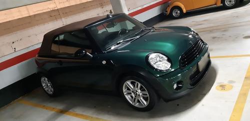 mini cooper cabrio (conversível) 2011 - oportunidade