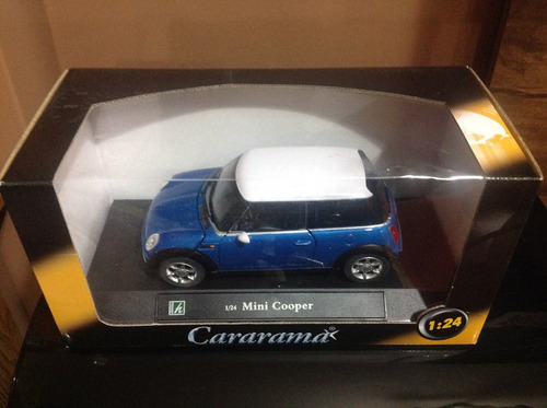 mini cooper / cararama / escala 1:24