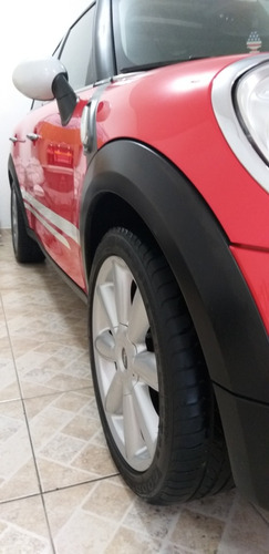 mini cooper contryman 1.6 s turbo automatico vermelho 2012
