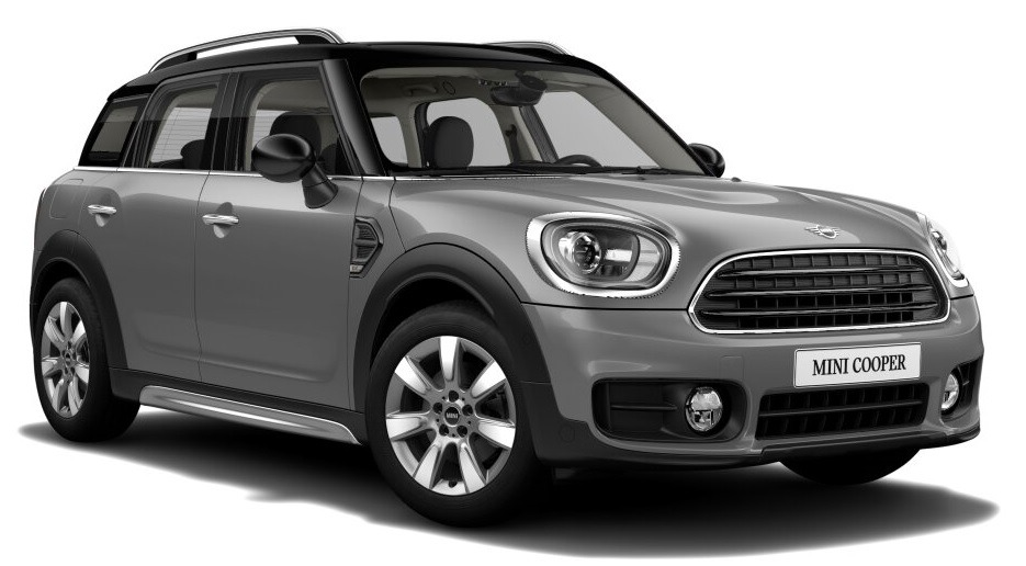 mini cooper countryman 1 5 136cv moonwalk grey    negro 0km