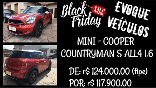 mini cooper countryman s all4 1.6 aut. 2016