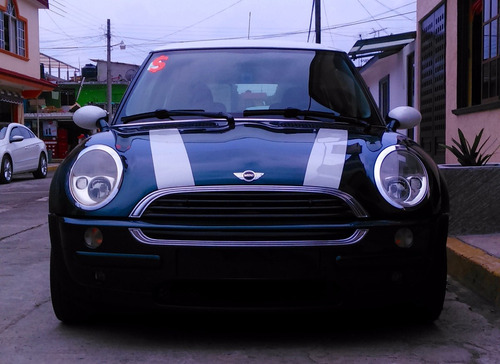mini cooper one verde 3 puertas