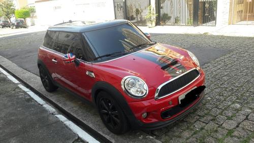 mini cooper s 1.6 s turbo automatico  vermelho 2012 novinho