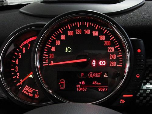 mini cooper s 2.0  gasolina 4p 2016 vermelho