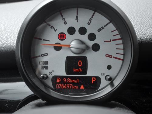mini cooper s 2011 blindado 1.6 turbo kit carbon jcw novo!!