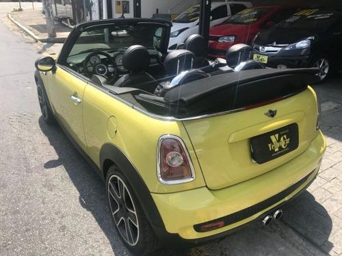 mini cooper s cabrio 1.6 turbo conversivel automatico 2010