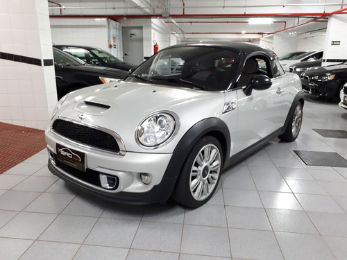 mini cooper s coupe 1.6 turbo 2013 prata