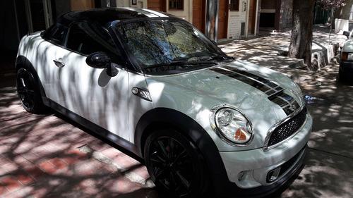 mini cooper s coupe 2013 nueva permuto financio