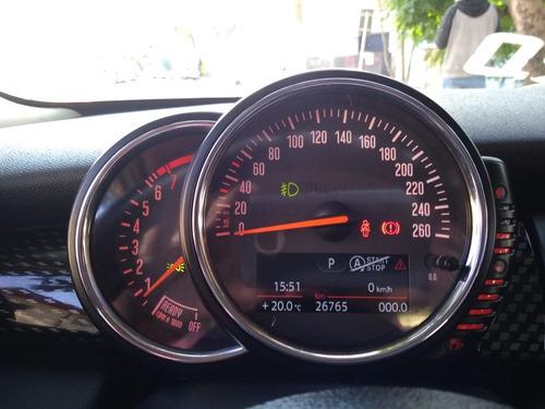 mini cooper s exclusive 2.0 turbo 2016 branco 26.000km