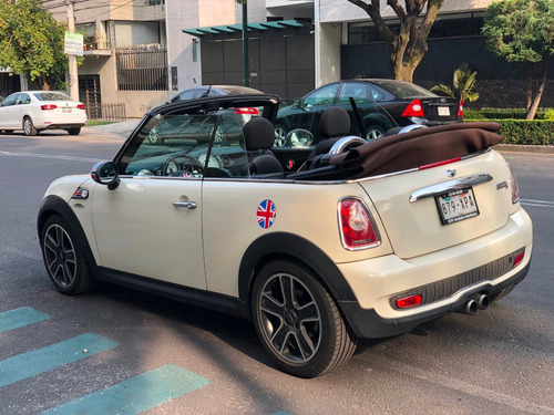 mini cooper s hot chili convertible automático piel