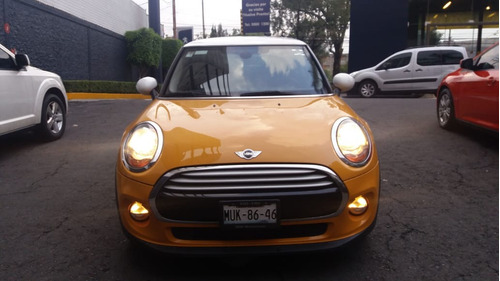 mini cooper salt color amarillo 2015