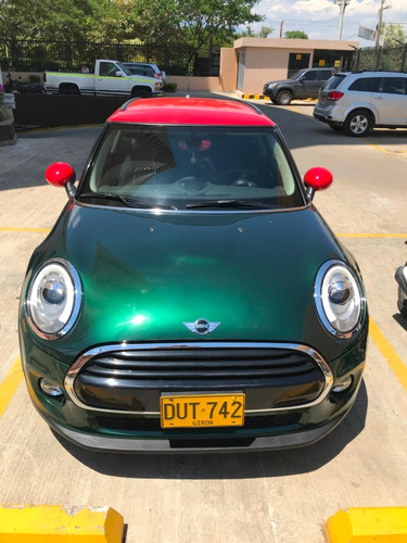 mini cooper version pepper - aut verde metalico - rojo