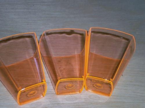 mini copos acrílico brigadeiro de colher.kit 100 unidades