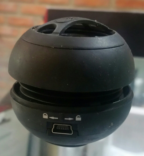 mini corneta amplificadora portátil recargable pc telefonos