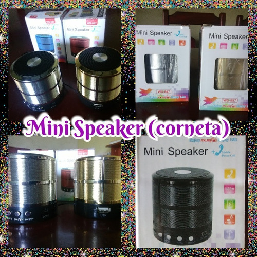 mini cornetas con bluetooth, usb, micro sd, radio fm