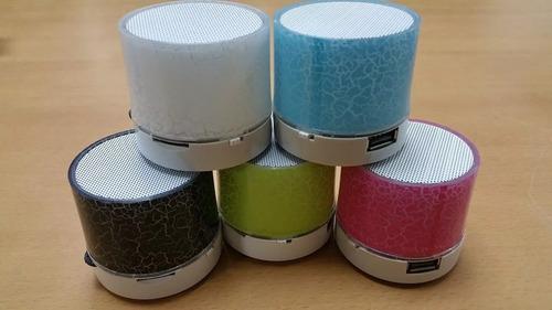 mini cornetas speaker bluetooth inalambrica led aux sd