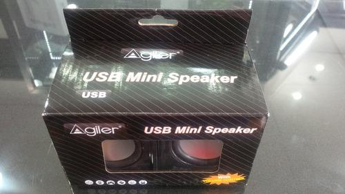mini cornetas usb 300w portatiles pc laptop cel table tienda