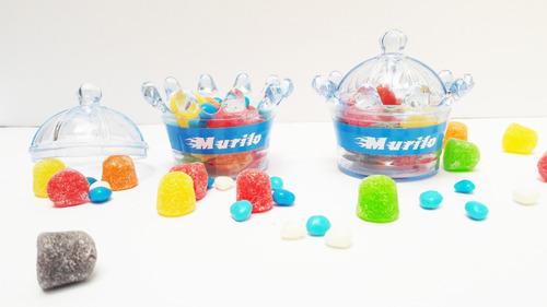mini coroas personalizadas - 10 peças