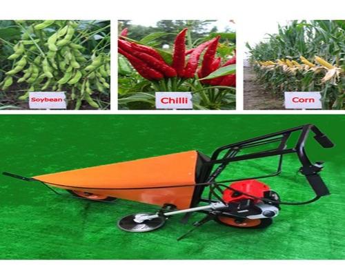 mini cosechadora de aji, porotos 52cc -maquinasagricolas cl