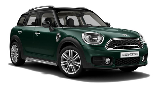 mini countryman cooper s british green / negro 0km