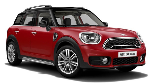 mini countryman cooper s chili red / negro 0km