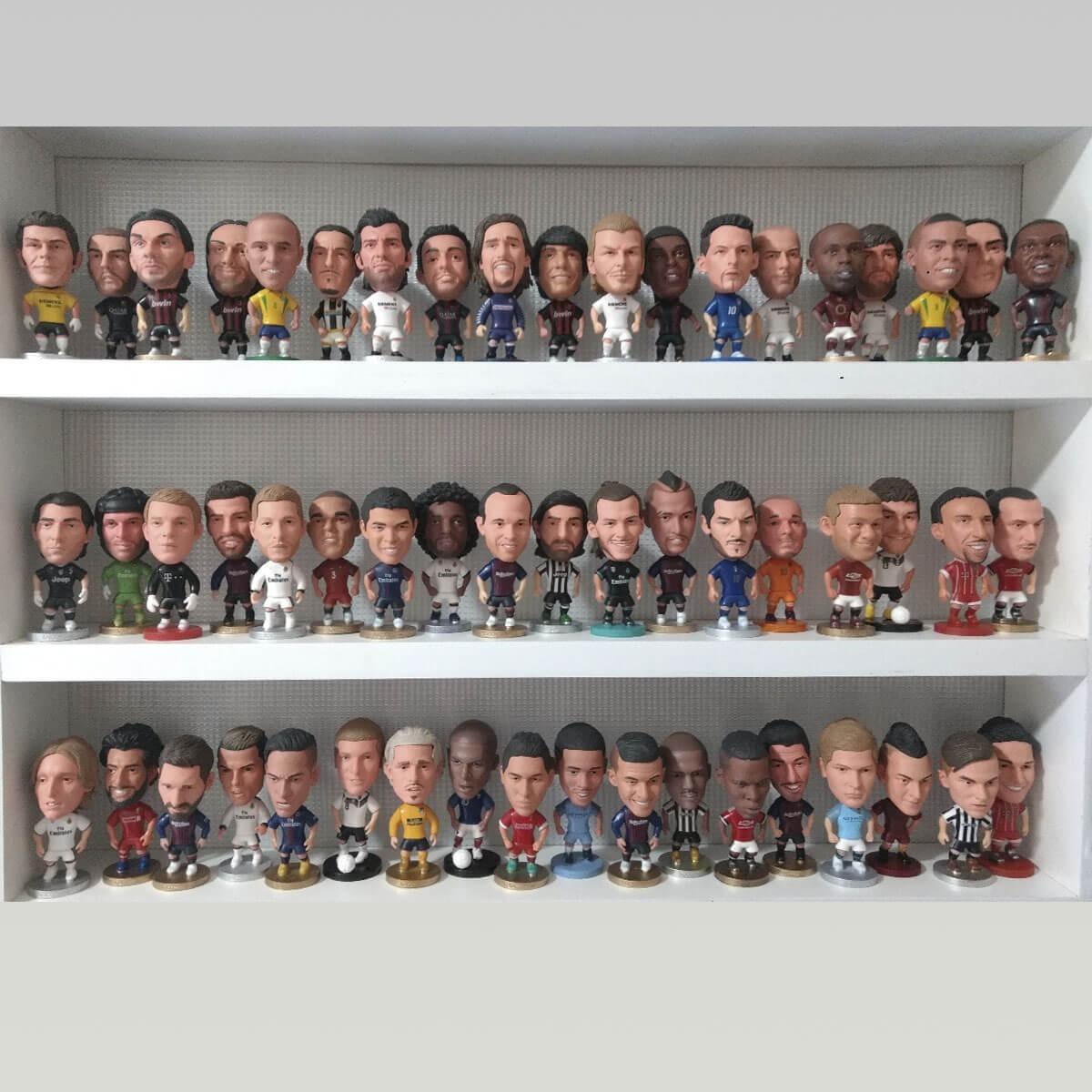 Mini Craques Futebol- Bonecos De Diversos Jogadores Do Mundo - R  34 ... 810210d33032e