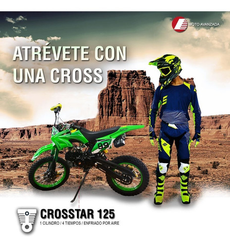 mini cross  enduro 125cc