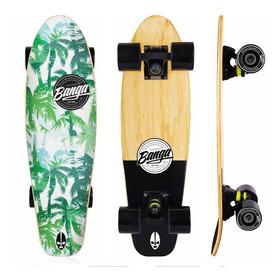 Mini Cruiser Maple Canadiense Lija Impresa - Banga Boards Oficial - Longboard Skateboard Patineta Penny Minicruiser Surf