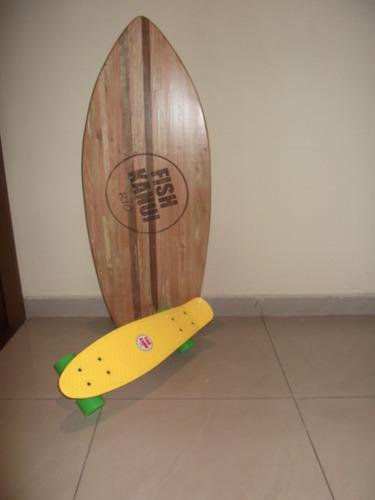 Mini Cruiser Tipo Penny Fish Kanui Rio Armala Como Quieras ... 54e8db67b6904