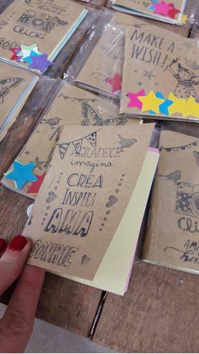 mini cuaderno artesanal