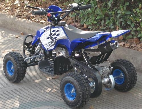 mini cuatri raptor 49 cc 2t. el mas vendido!!!!