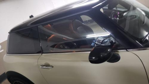 mini cuper 2014 motor 1.6 color beige techo negro