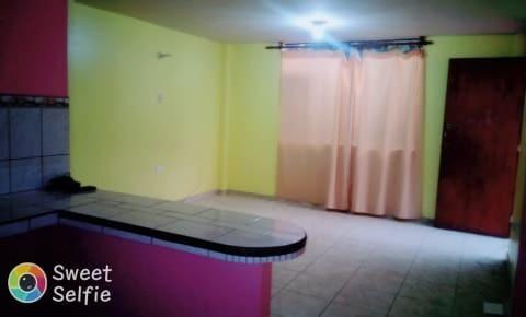 mini departamento en san miguel - amplia habitación
