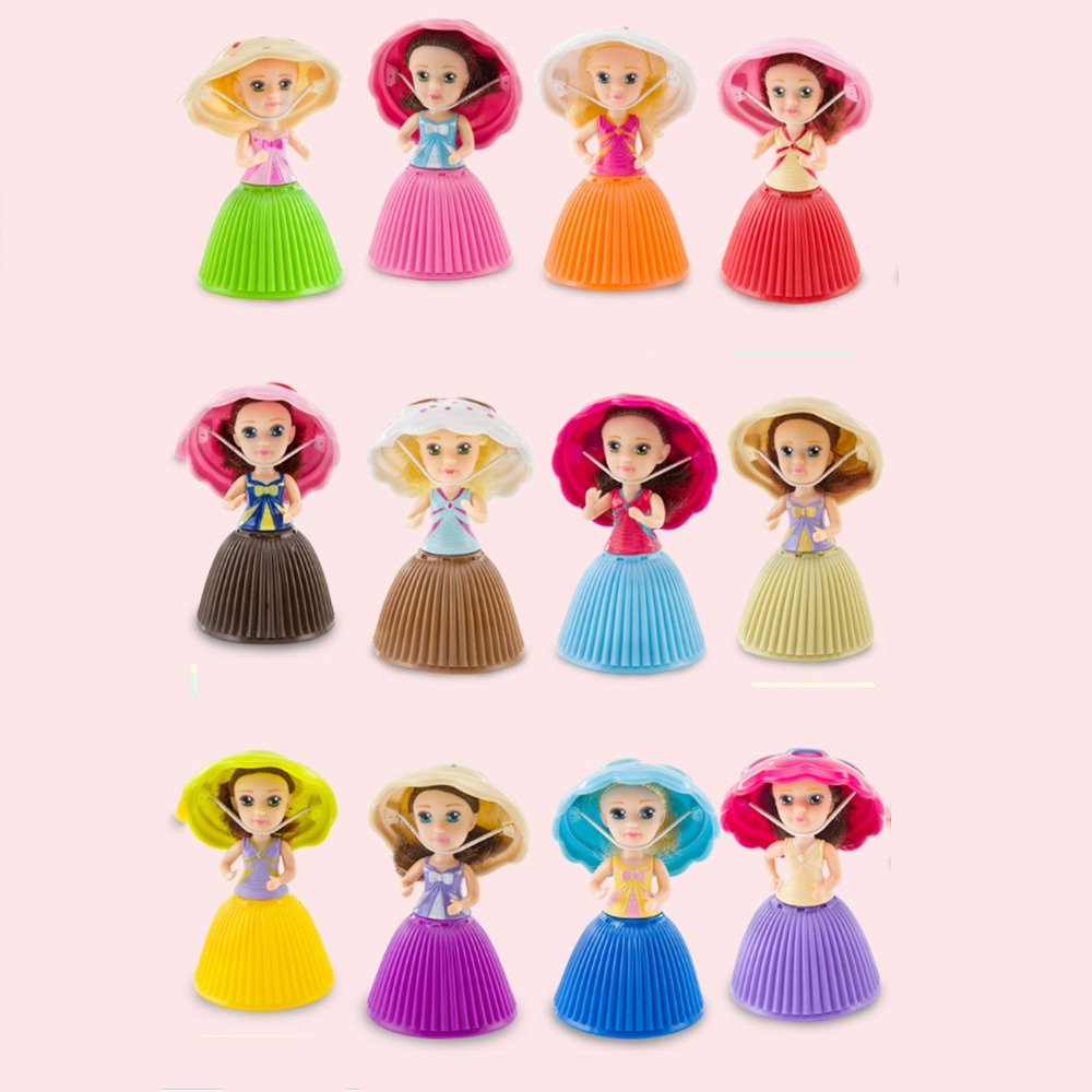 Mini Desenho Animado Adoravel Surpresa Cupcake Princesa Bone R