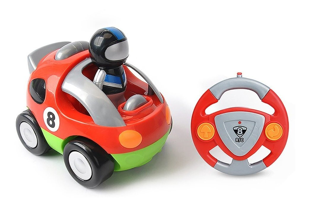 Mini Desenho Animado Controle Remoto Volante Carro Carro Car R